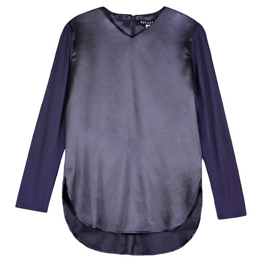 SILKY V T MIDNIGHT BLUE - Ruti Horn, Apparel