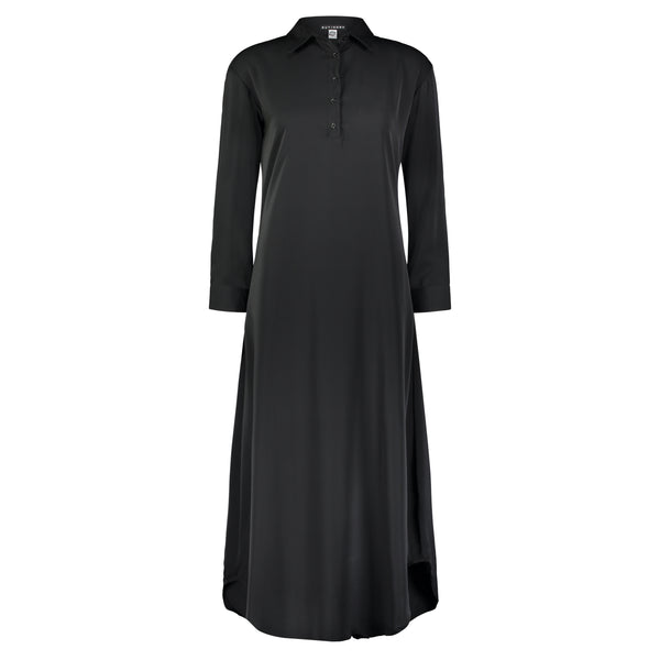 BASE SHIRTDRESS BLACK - Ruti Horn, Apparel