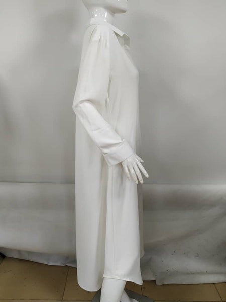BASE SHIRTDRESS WHITE - Ruti Horn, Apparel