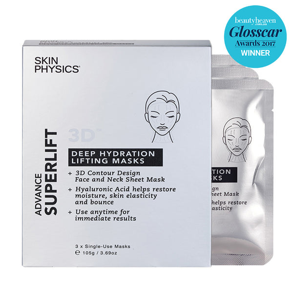 SUPERLIFT® 3D Deep Hydration Lifting Masks 3pk