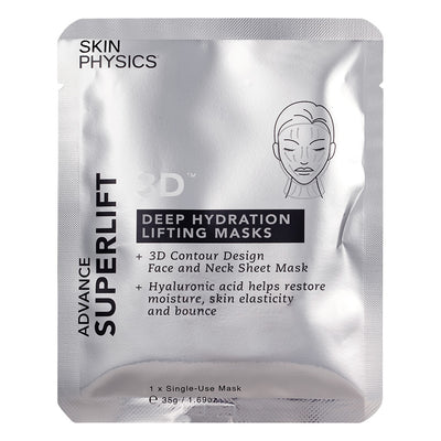 3D Deep Hydration Lifting Masks 3pk