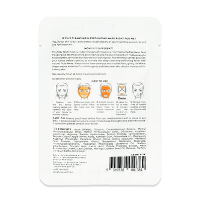 Brightening Bubble Mask