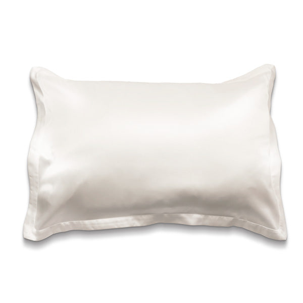 The Silk Effect Pillowcase - Winter White