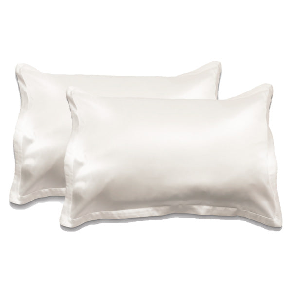 The Silk Effect Pillowcase 2PK - Winter White