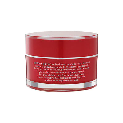Dragon's Blood Ultra Plumping Night Cream Jar Directions
