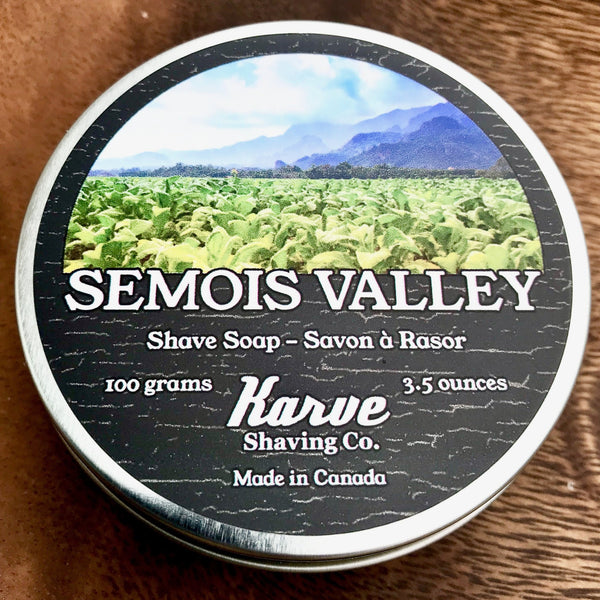 Karve Shaving Co. Shave Soap- Semois Valley