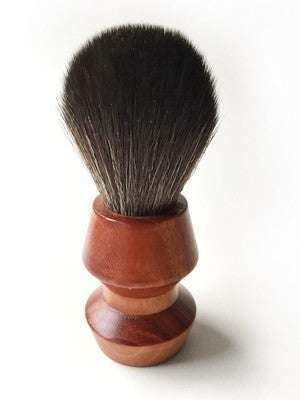 Paragon Shaving Brush- BLS1-Black Synthetic Brush Handle 25mm