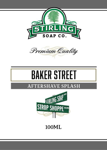 Stirling Soap Company Baker Street Aftershave Splash