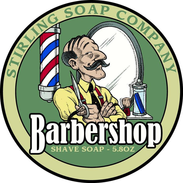 Stirling Soap Co. Barbershop Shave Soap