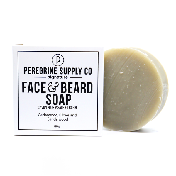 Peregrine Supply Co. Signature Face and Beard Soap