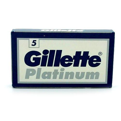 Gillette Platinum Double Edge Safety Razor Blades