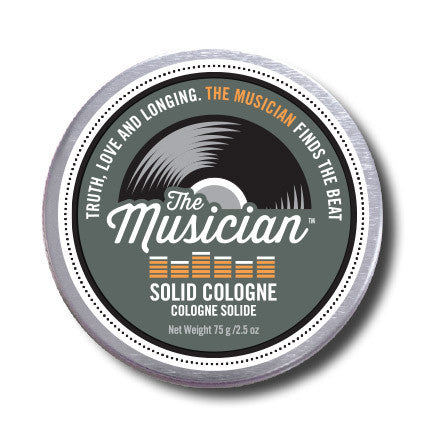 "Men Don't Stink- ""The Musician"" Solid Cologne"