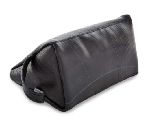 The Phelix and Co.  Leather Toiletry Bag