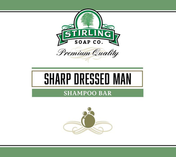 "Stirling Soap Co. ""Sharp Dressed Man"" Shampoo Bar"
