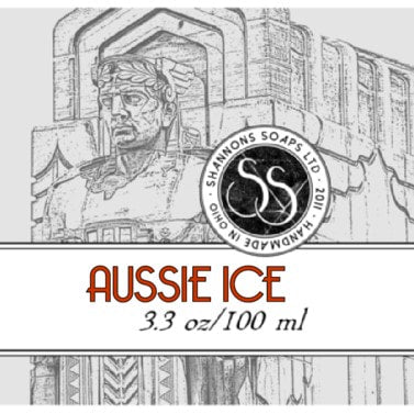 Shannon's Soaps Soothing Post Shave Splash- Aussie Ice Splash