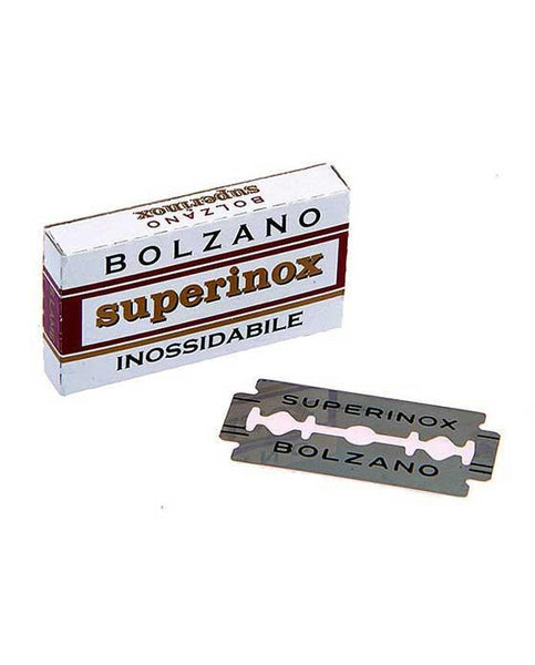 Bolzano Superinox Double Edge Safety Razor Blades