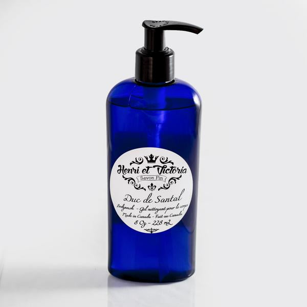 Henri et Victoria Body Wash- Duc de Santal