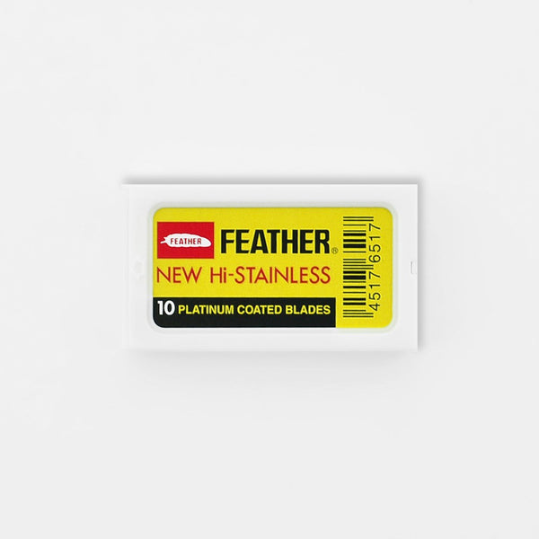 Feather New Hi-Stainless-Platinum Coated Blades (10 pack)