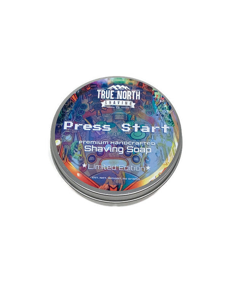 True North Shaving Co. Shave Soap- Press Start - Limited Edition