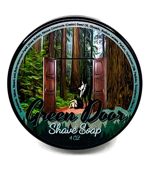 "Highland Springs Shave Soap ""Green Door"""