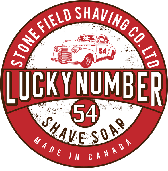 Lucky Number 54 Shave Soap
