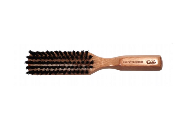 Educated Beards Boar Hair Brush