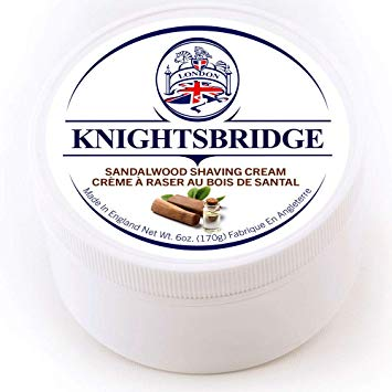Knightsbridge Shaving Cream- Sandalwood