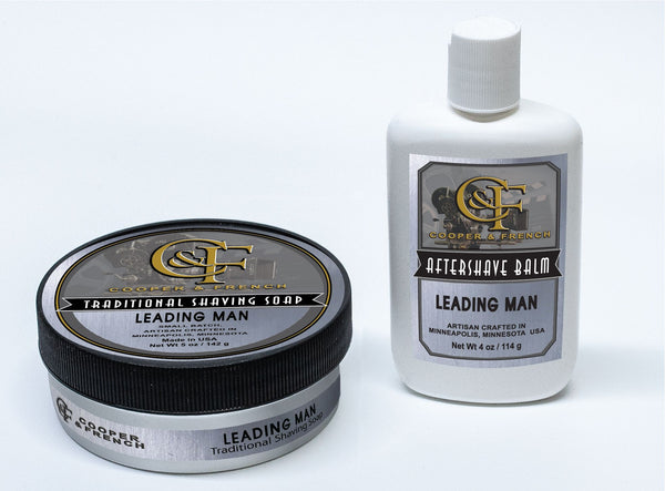 "Cooper and French Aftershave Balm ""Leading Man"""