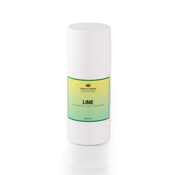 Henri et Victoria After Shave Balm- Lime