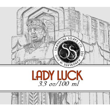 Shannon's Soaps Soothing Post Shave Splash- Lady Luck