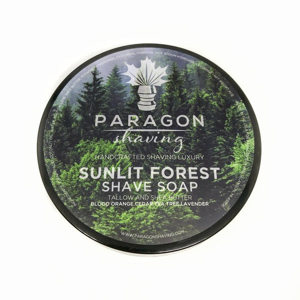 Paragon Shaving Sunlit Forest Premium Shave Soap