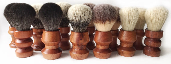 Paragon Shaving Brush- PTS1- Plisson type Brush Handle 28mm