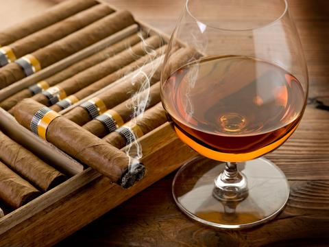 Henri et Victoria Pomade- Cognac and Cuban Cigars