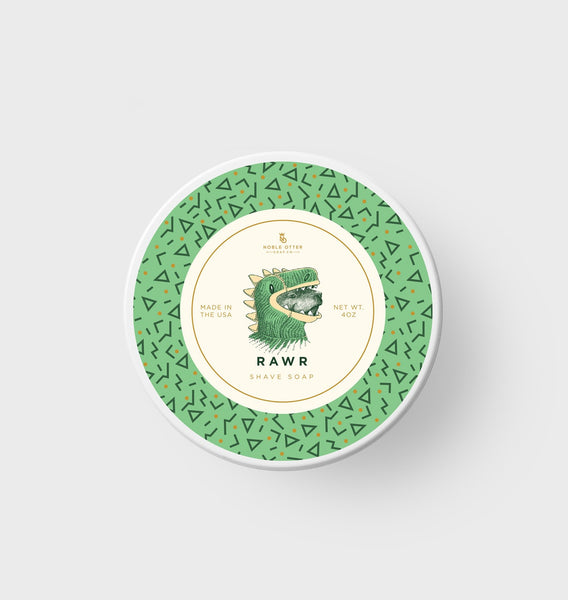 "Noble Otter Shave Soap ""Rawr"""