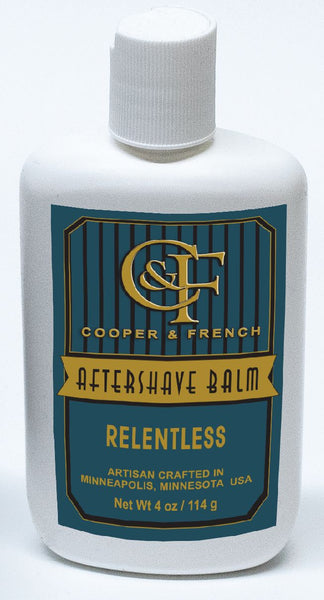 "Cooper and French Aftershave Balm ""Relentless"""