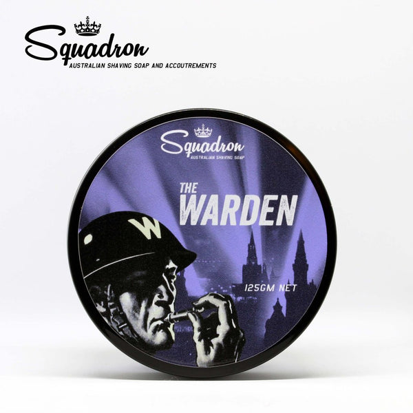 Squadron Shave Soap- The Warden