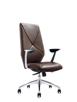 Zeuss Executive Swivel Office Chair (Brown)