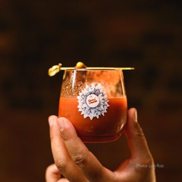 Toma Bloody Maria with Bruxo Mezcal No.1 Espadin