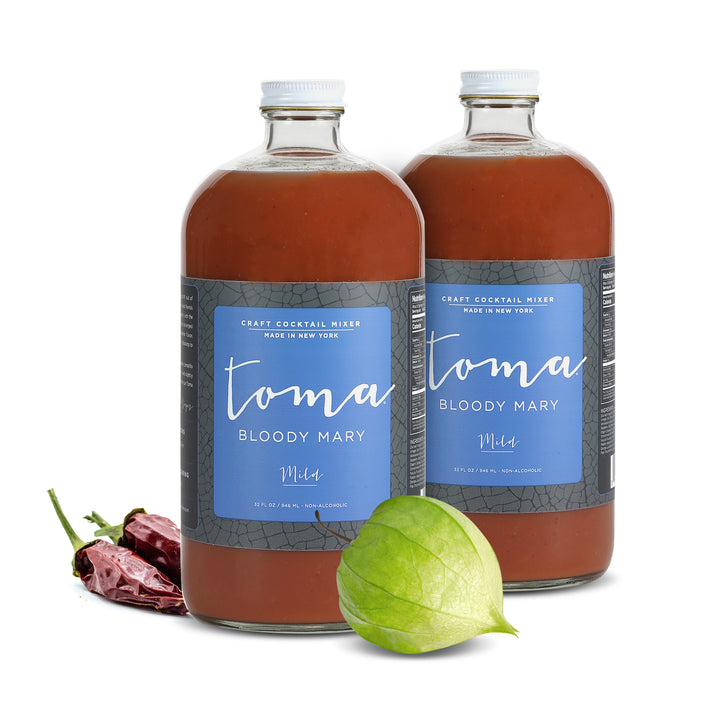 Toma Bloody Mary Mixer - Mild (32oz) 2-PACK - Toma Bloody Mary Mixers