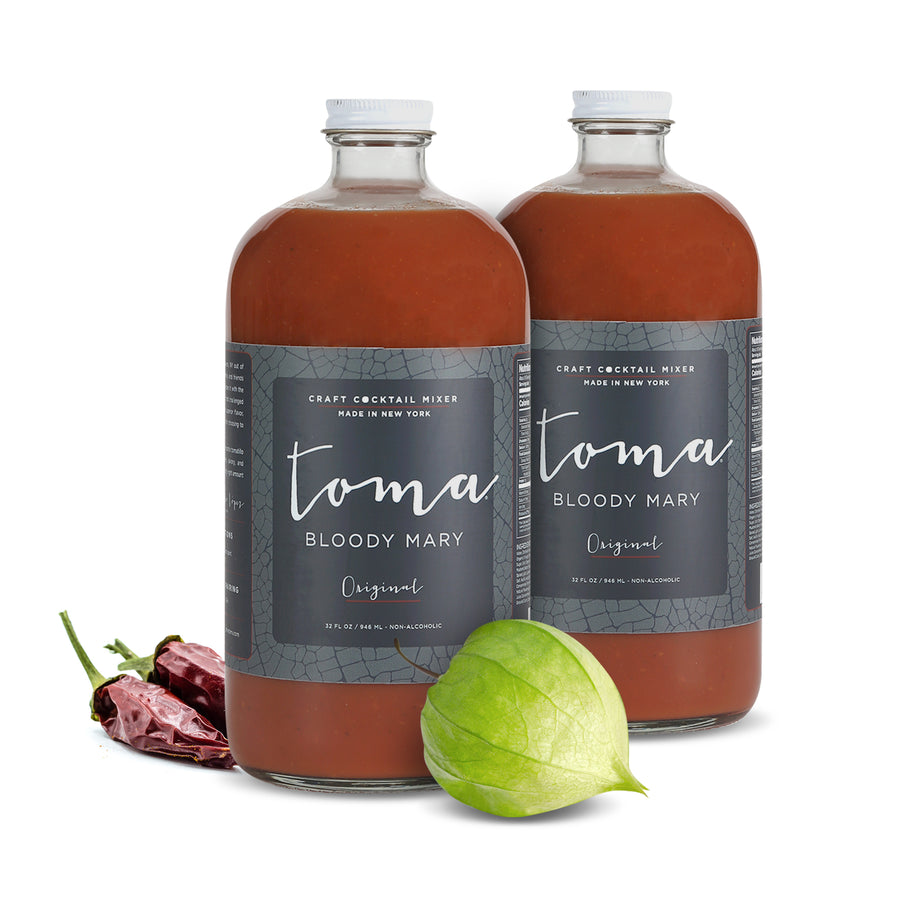Toma Bloody Mary Mixer - Original (32oz) 2-PACK - Toma Bloody Mary Mixers