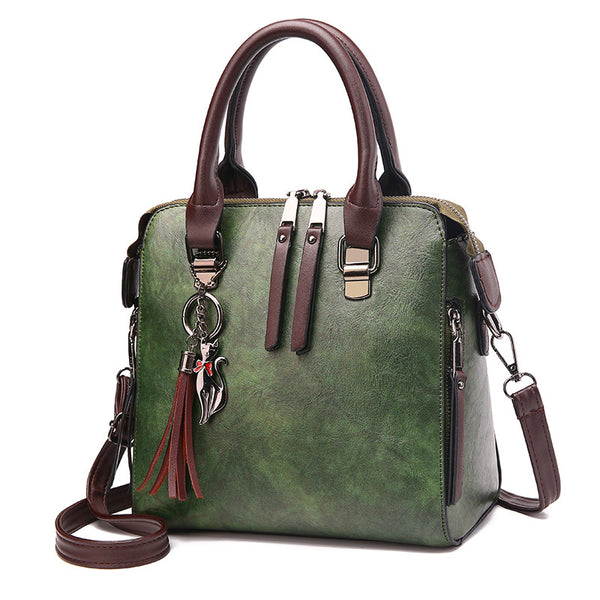 Vintage Leather Ladies Handbag