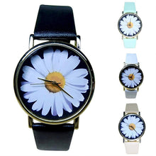 Fashion Style Flower Women's Watches  / Leather Quartz Watches