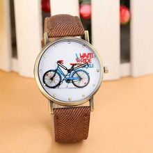 Fashion Women Watches  Quartz-Watch  Bicycle in 7 Colors