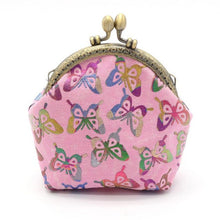 Retro Vintage Butterfly Small Wallet / Clutch