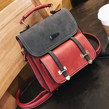 Small Leather Travel Backpack Purse