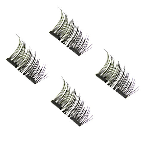 3D Reusable Magnetic False Eyelashes (Half Lash)