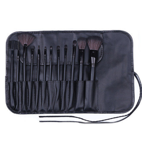 12 Piece Professional Black Set