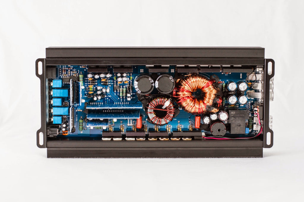 M-750.1 Compact Class D Car Audio Amplifier Gut Shot || Amplifier by CT Sounds