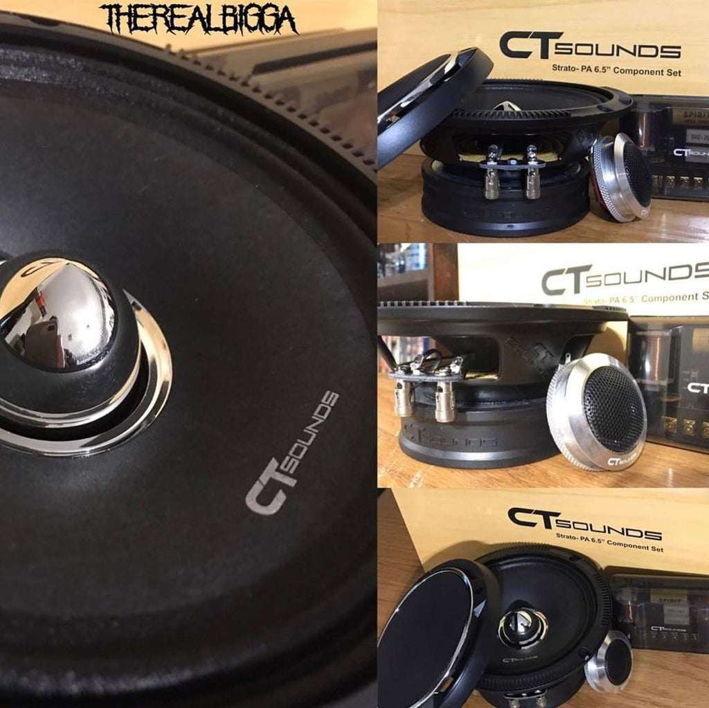 Component Car Audio Speaker Set by CT Sounds