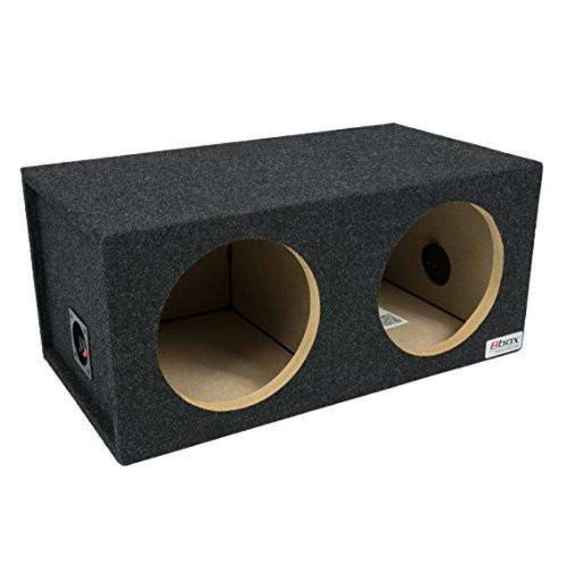 10-Inch Dual Sealed Subwoofer Enclosure - CT SOUNDS